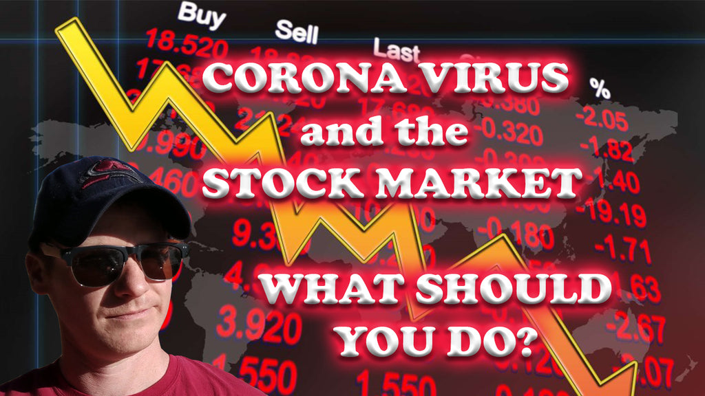 Let's Talk: Effects of Corona Virus on the Stock Market - WHAT SHOULD YOU DO? -ReDesignYourGrindVlog