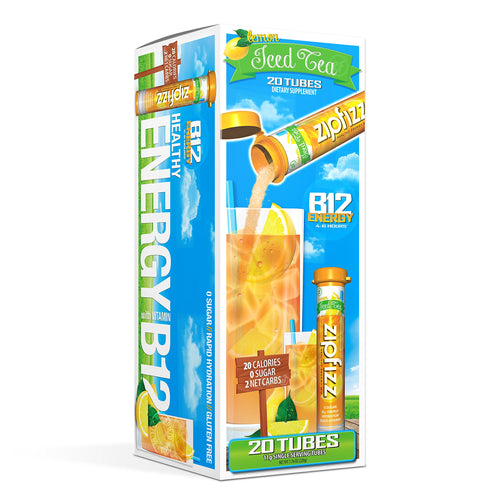 Zipfizz Healthy Energy Drink Mix, Hydration with B12 and
