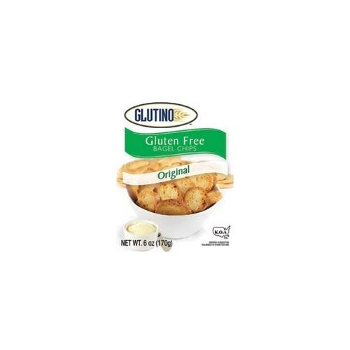 Glutino Original Bagel Chips (6x6 Oz)