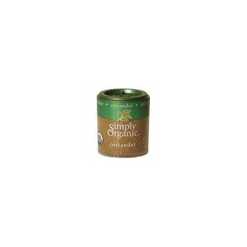 Simply Organic Mini Ground Coriander Seed (6x.35 Oz)