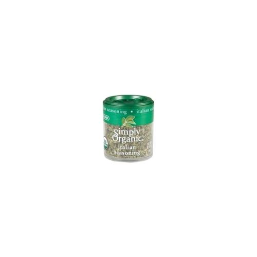 Simply Organic Mini Italian Seasoning Blend (6x.14 Oz)