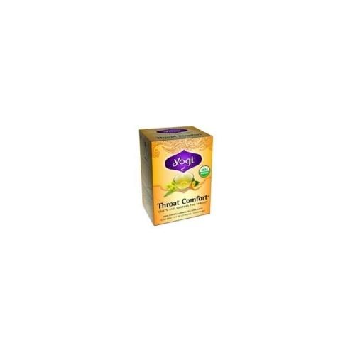 Yogi Throat Comfort Tea (6x16 Bag)