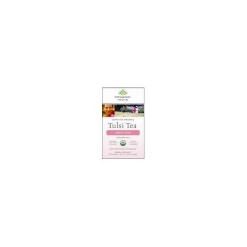 India Sweet Rose Tulsi Tea (6x18 CT)