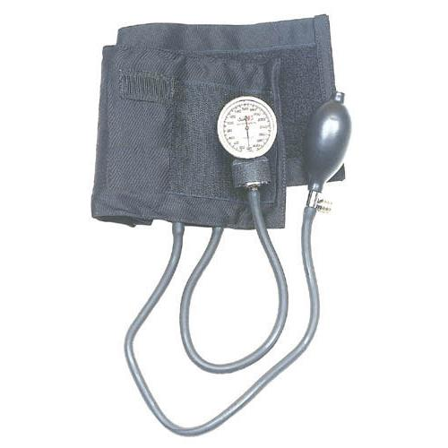 Aneroid Blood Pressure w/Blue Nylon Large Adult Cuff