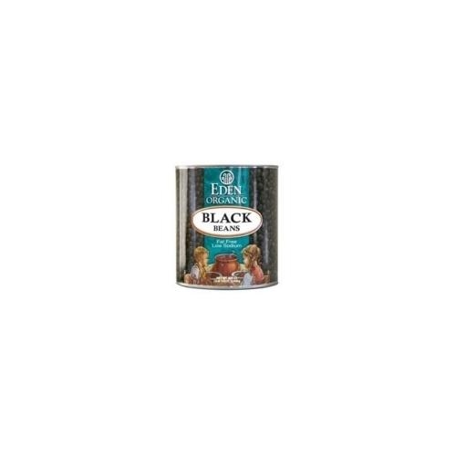 Eden Foods Black Beans Can (12x15 Oz)