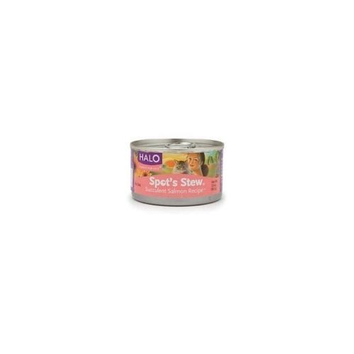 Halo Cat Salmon Spots Stew (12x3 Oz)