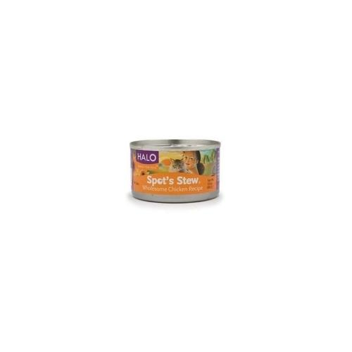 Halo Cat Chicken Spots Stew (12x5.5 Oz)