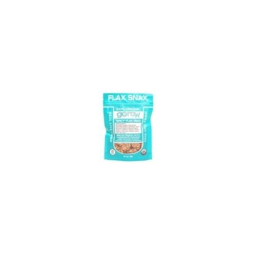 Go Raw Spicy Flaxsnax (12x3 Oz)