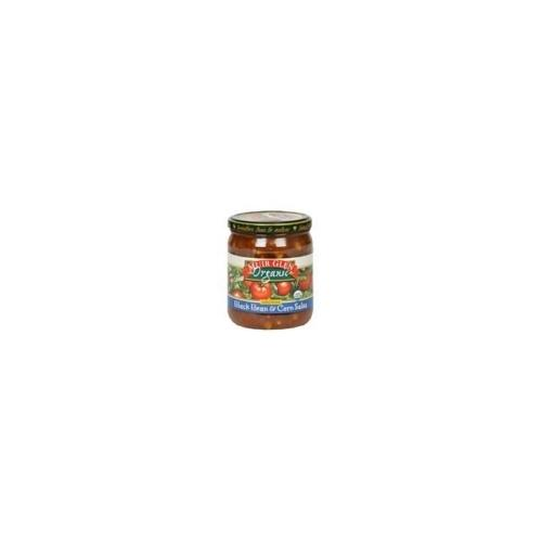 Muir Glen Black Bean & Corn Med Salsa (12x16 Oz)