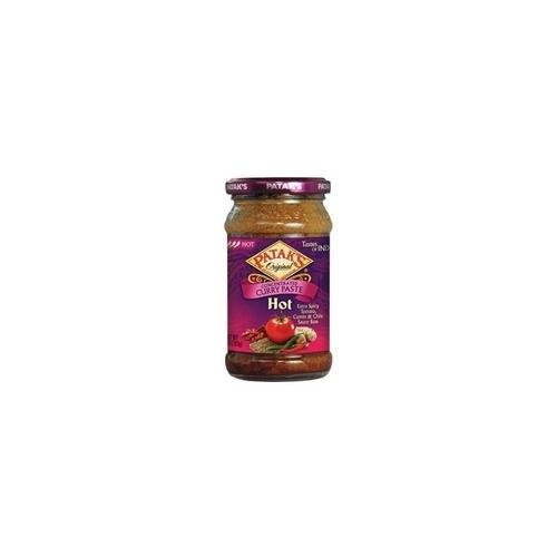 Patak's Hot Curry Paste Concetrate (6x10Oz)