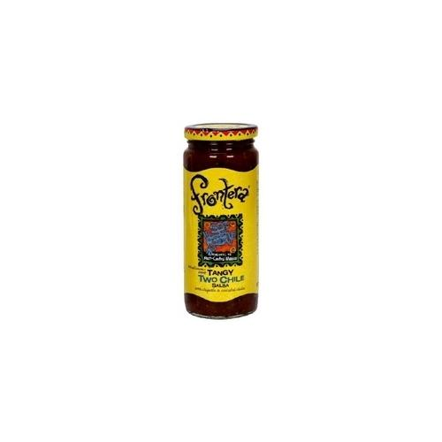 Frontera Tangy Two Chile Salsa Med-Hot (6x16Oz)