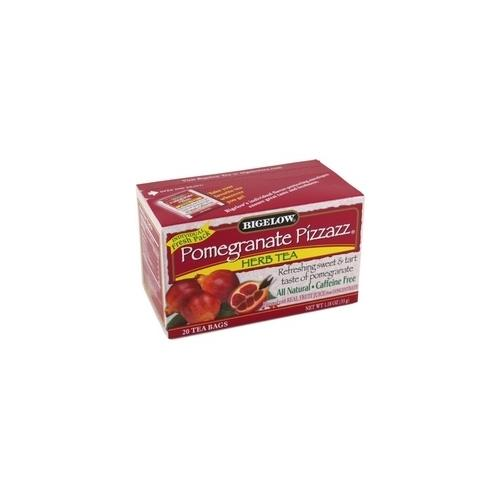 Bigelow Pomegranate Pizzazz Herbal Tea (6x20 Bag )