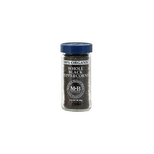 Morton & Bassett Whole Black Pepper (3x2.1Oz)