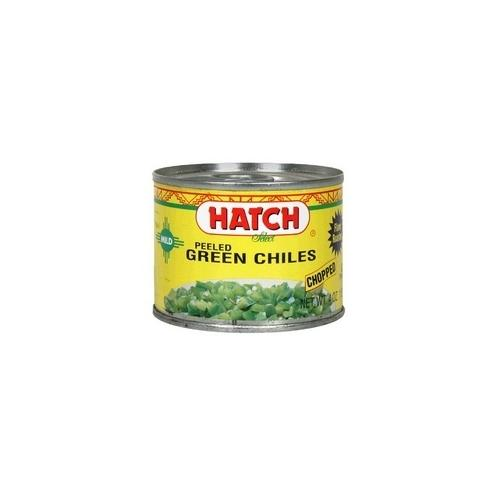 Hatch Farms Green Chilies Hot Diced (24x4 Oz)