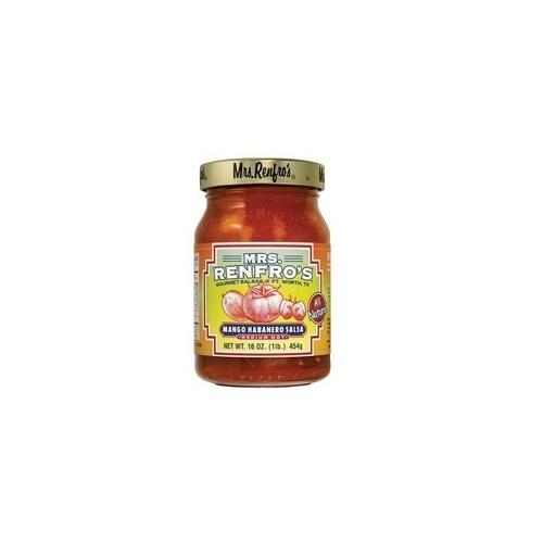 Mrs. Renfro's Mango Habanero Medium Hot Salsa (6x16Oz)