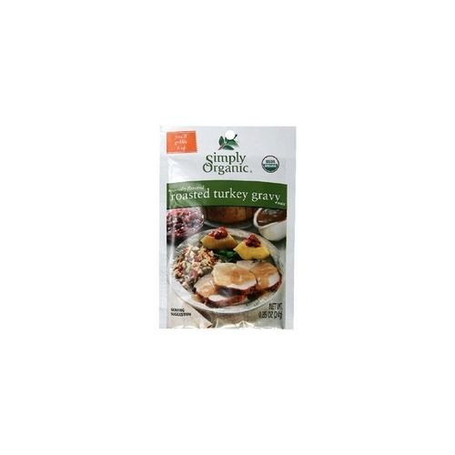 Simply Organic Roasted Turkey Gravy, Seasoning Mix (12x0.85Oz)