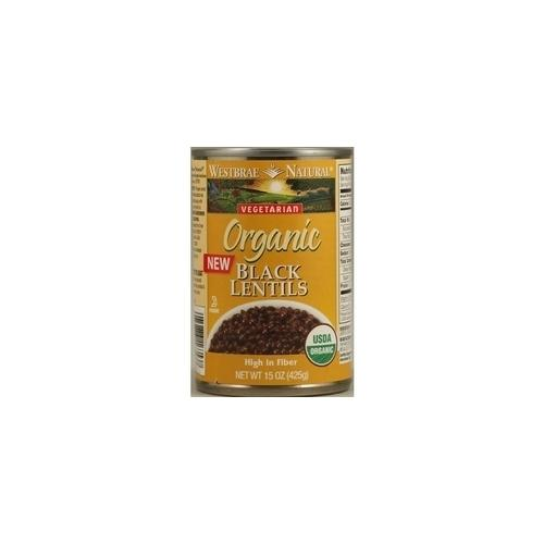 Westbrae Foods Black Lentils 1 (12x15Oz)