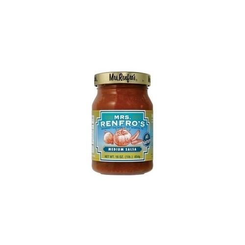 Mrs. Renfro's Medium Salsa (6x16Oz)