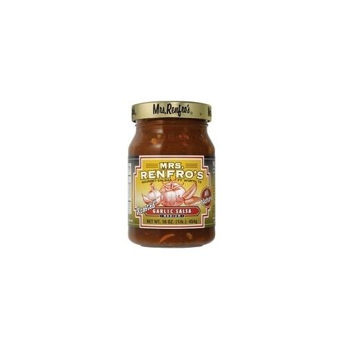 Mrs. Renfro's Medium Roasted Garlic Salsa (6x16Oz)