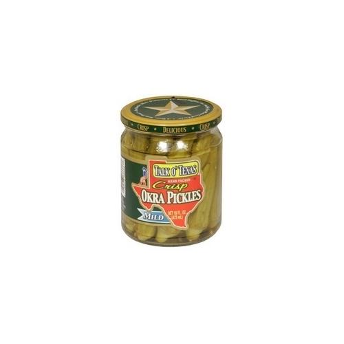 Talk O Texas Okra Pickled Mild (6x16Oz)