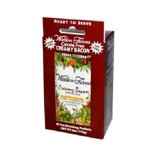 Walden Farms Creamy Bacon Drsg Pkt (6x1OZ )