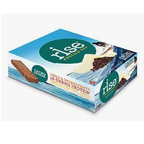 Rise Foods Protein Bar Cacao Banana (12X2.1 OZ)