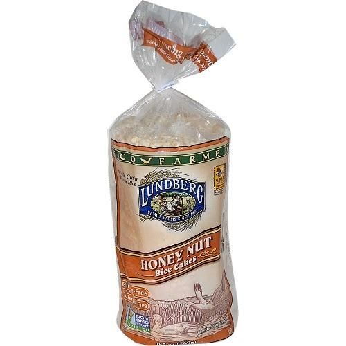Lundberg Honey Nut Rice Cakes  (12x9.6 OZ)
