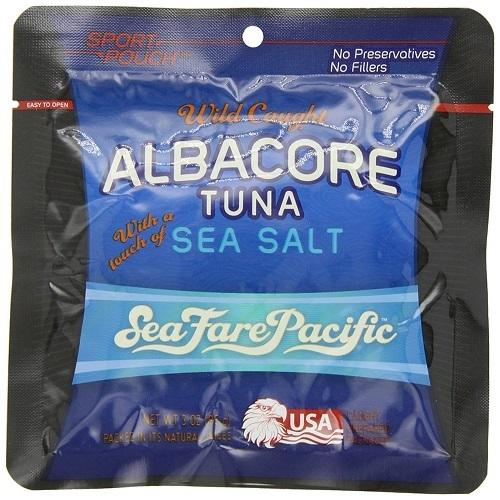 Seafare Pacific Albacore With A Touch Of Sea Salt (12X3 OZ)