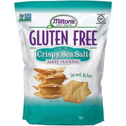 Milton's Baked Crackers Crispy Sea Salt (12x4.5 OZ)