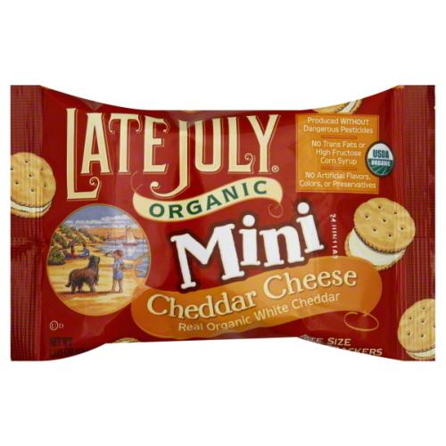 Late July Mini Cheese Sandwich Crackers (4x8 PACK)