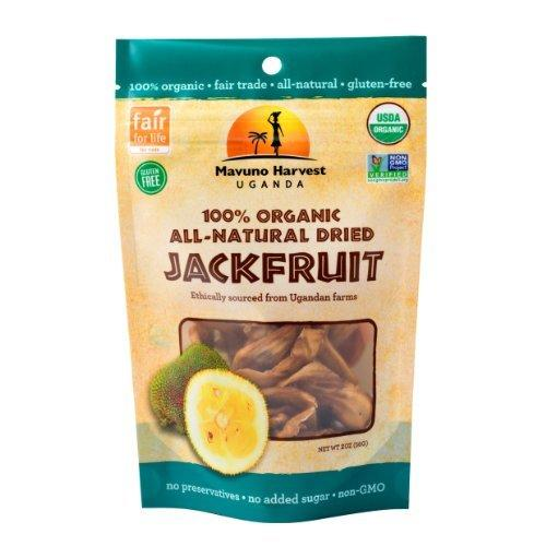 Mavuno Harvest Organic Dried Jackfruit (6x2 OZ)