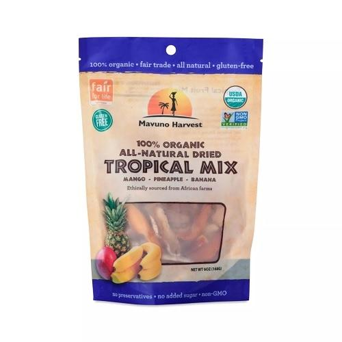 Mavuno Harvest Organic Dried Tropical Mix  (6x2 OZ)