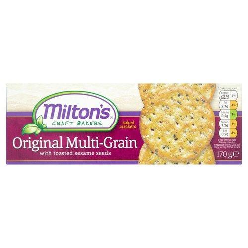 Milton's Craft Bakers Original Multi-Grain Crackers (12x6.5 OZ)