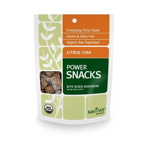 Navitas Naturals Citrus Chia Power Snack (12x8 OZ)