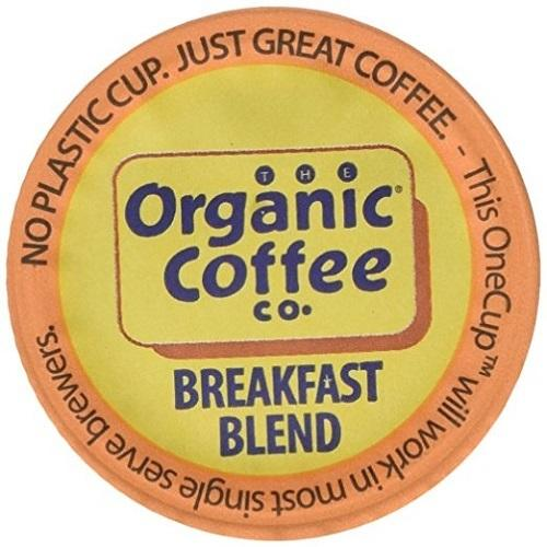 Organic Coffee Co. Onecup, Breakfast Blend (6X4.65 OZ)