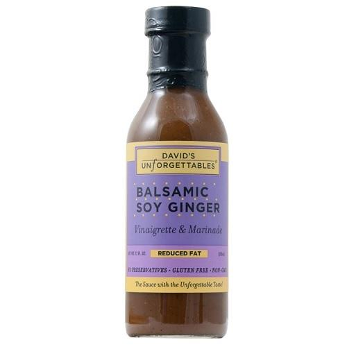 David's Unforgettables Balsamic Soy Ginger (6x12 OZ)