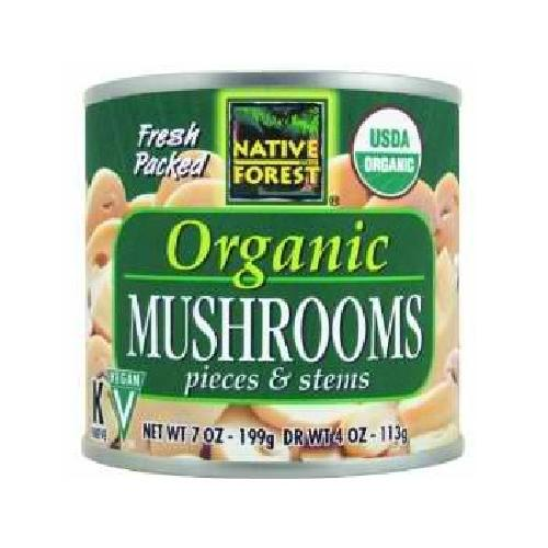 Native Forest Mushrooms Pieces/Stems (12x7OZ )
