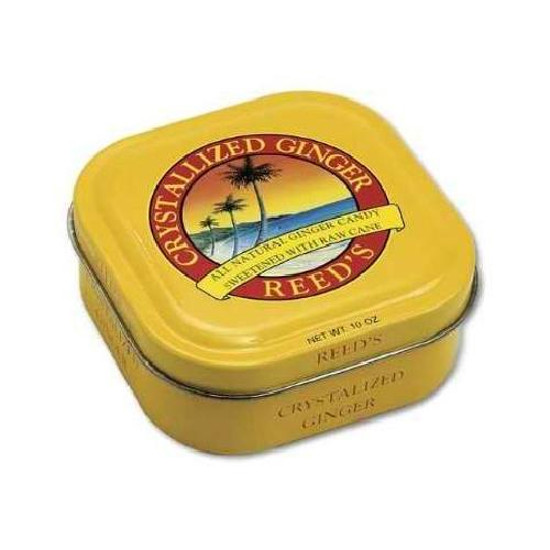 Reed's Inc. Reed Crstlz Ginger Tin (8x10OZ )