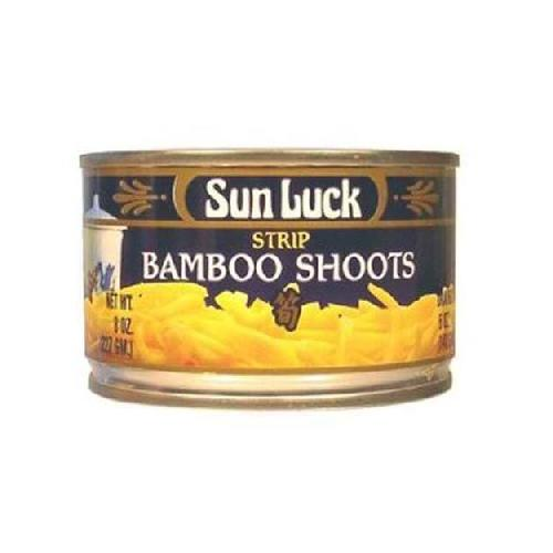 Sun Luck Bamboo Shoots Strp (12x8OZ )