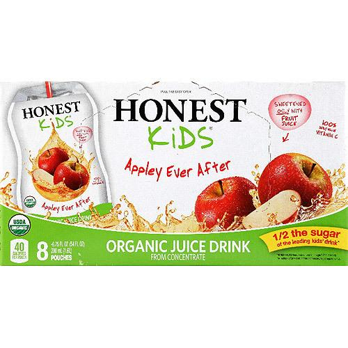 Honest Kids Appley Juice (4x8Pack )