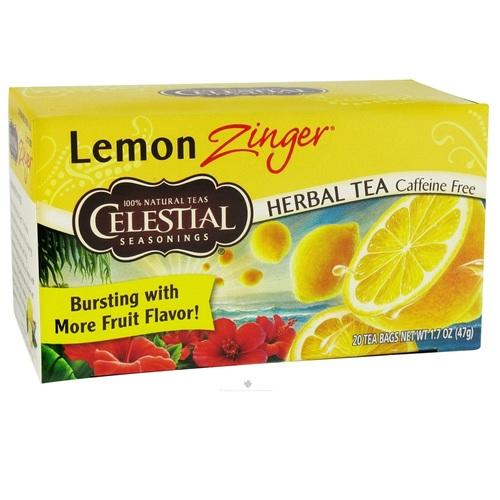 Celestial Seasonings Lemon Zinger Tea (6x20BAG )