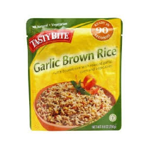 Tasty Bite Garlic Brown Rice (6x8.8OZ )