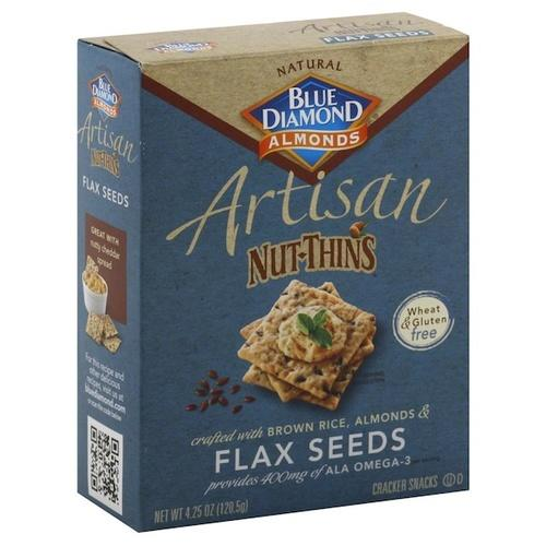 Blue Diamond Flaxseed Nut Thin (12x4.25OZ )
