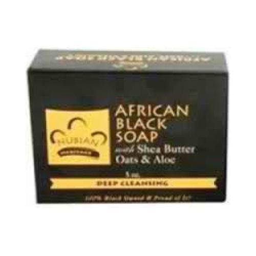 Nubian Heritage African Black Soap (1x5OZ )
