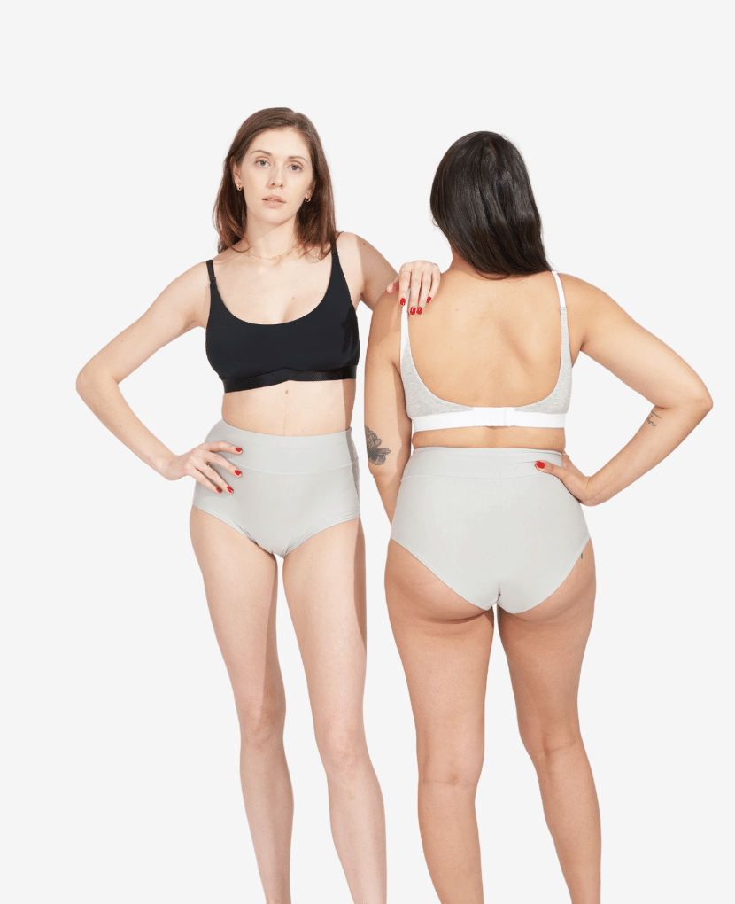 The All-In Panty - Soft Grey