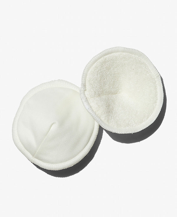 Soft, absorbent, and organic breast pads