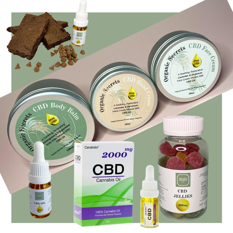CBD PRODUCTS - Organic Secrets UK
