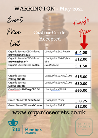 Choose any 4 brownies for just £12 instead of £16