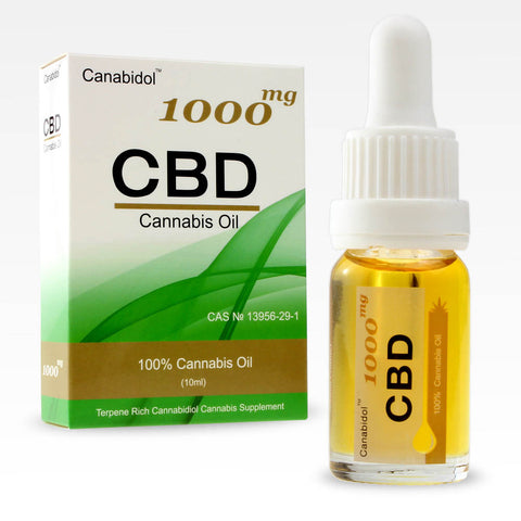 CANABIDOL™ CANNABIS CBD OIL DROPS 1000mg