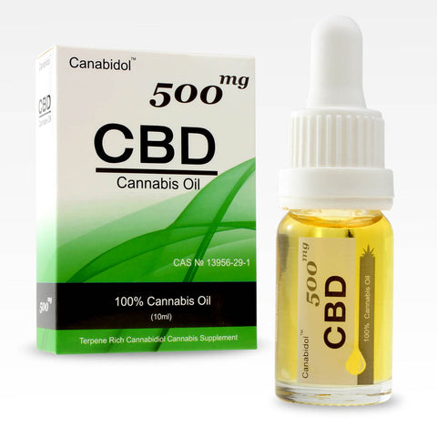 CANABIDOL™ CANNABIS CBD OIL DROPS 500mg